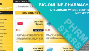 Big-Online-Pharmacy.Org Review – A Pharmacy Whose Legitimacy is Not yet Proven