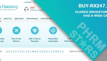 Buy-Rx247.Com Review – Closed Drugstore that Had a Wide Catalog