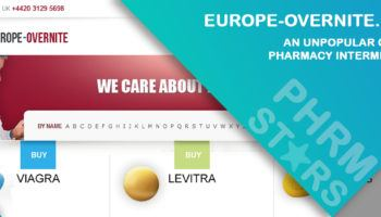 Europe-overnite.com Review - An Unpopular Online Pharmacy Intermediary