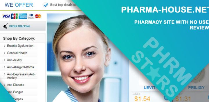 Pharma-house.net Review – Pharmacy Site with No User Reviews