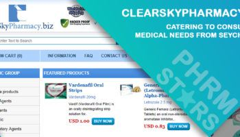 Clearskypharmacy.biz Review: Catering to Consumers' Medical Needs from Seychelles