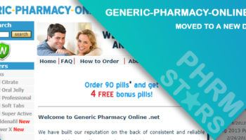 Generic-pharmacy-online.net Review - Moved to a New Domain