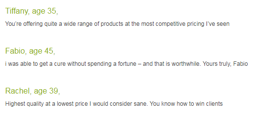 Generic Pills Shop User Reviews