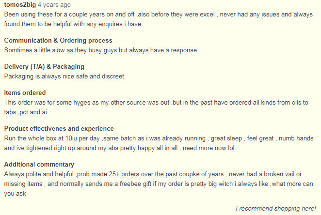 Excel Pharma User Reviews