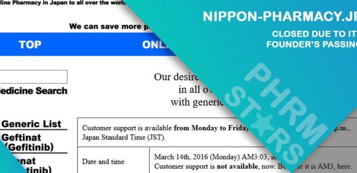 Nippon-pharmacy.jp Review– Closed Due to its Founder's Passing