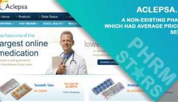 Aclepsa.com Review – A Non-Existing Pharmacy Which Had Average Prices and Services