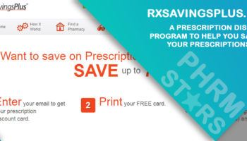 Rxsavingsplus.com Review - A Prescription Discount Program to Help you Save on your Prescriptions Meds