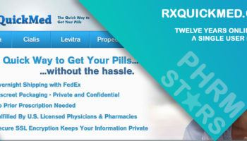 Rxquickmed.com Review – Twelve Years Online, Not a Single User Review