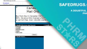 Safedrugs.com Review – A Doubtful Online Pharmacy