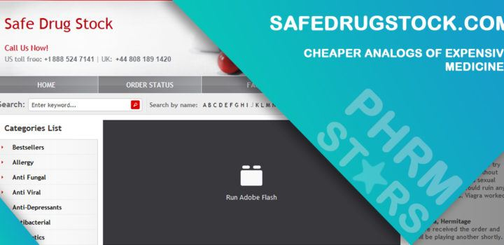 Safedrugstock.com Review – Cheaper Analogs of Expensive Medicines