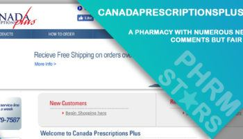 Canadaprescriptionsplus.com Review – A Pharmacy with Numerous Negative Comments but Fair Prices